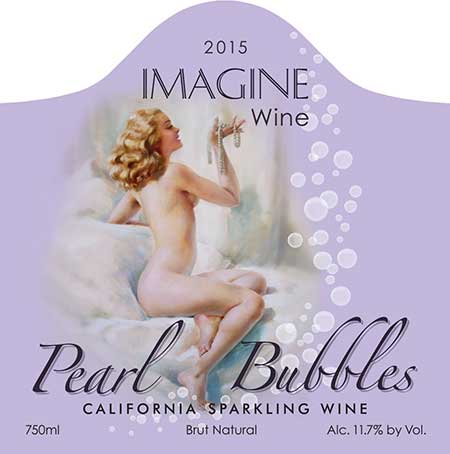 2015 Pearl Bubbles California Sparkling Wine